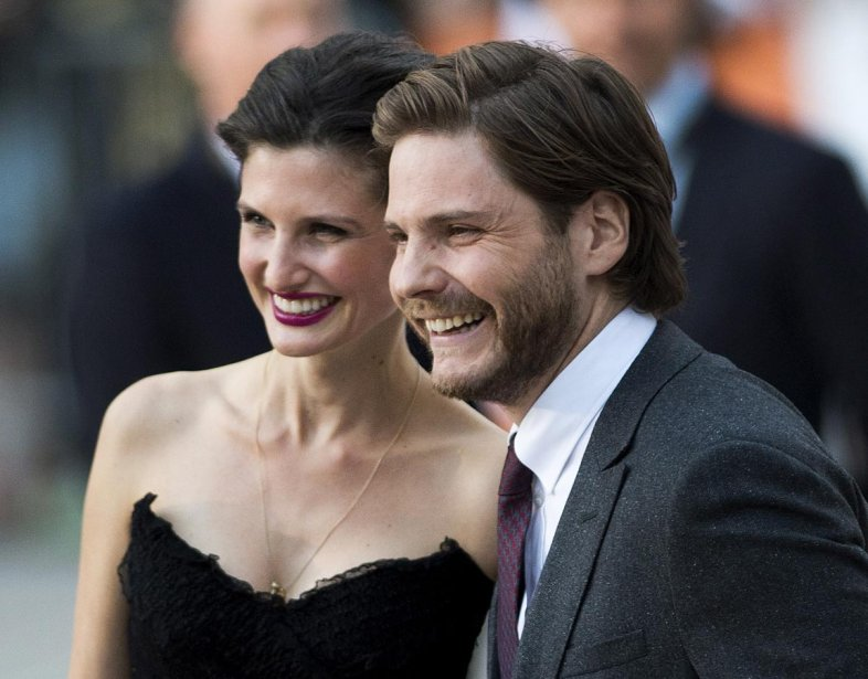 L'acteur Daniel Bruhl sur le tapis rouge avant la projection de «The Fifth Estate». | 6 septembre 2013