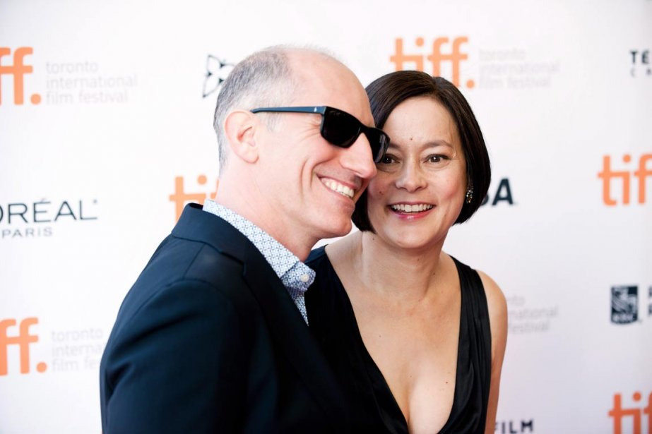 Le producteur Michael Shamberg et l'actrice Meg Tilly pour «The Big Chill» | 6 septembre 2013