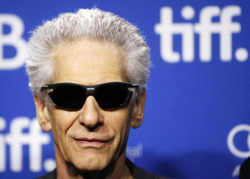 David Cronenberg prend la ose avant le conférence de presse de son film «The Cronenberg Project». | 6 septembre 2013
