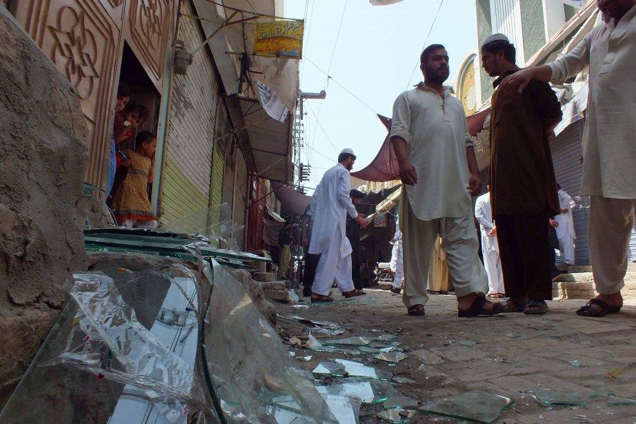 Selon Islamabad, 40 000 personnes ont été tuées... (Photo KARIM ULLAH, AFP)