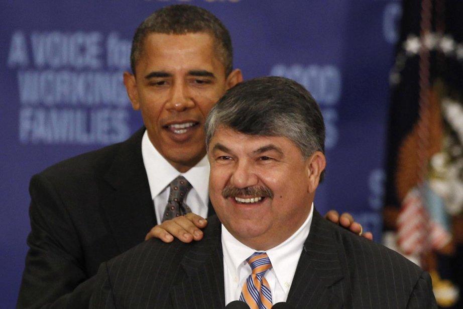 Le président de la centrale syndicale AFL-CIO, Richard... (PHOTO LARRY DOWNING, ARCHIVES REUTERS)