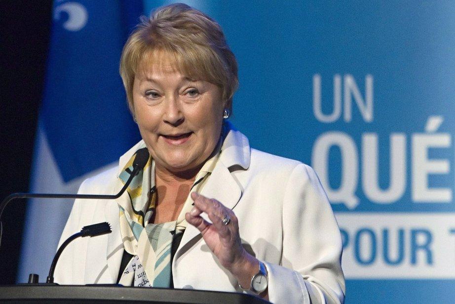 Pauline Marois, première ministre... (ARCHIVES, LeDroit)