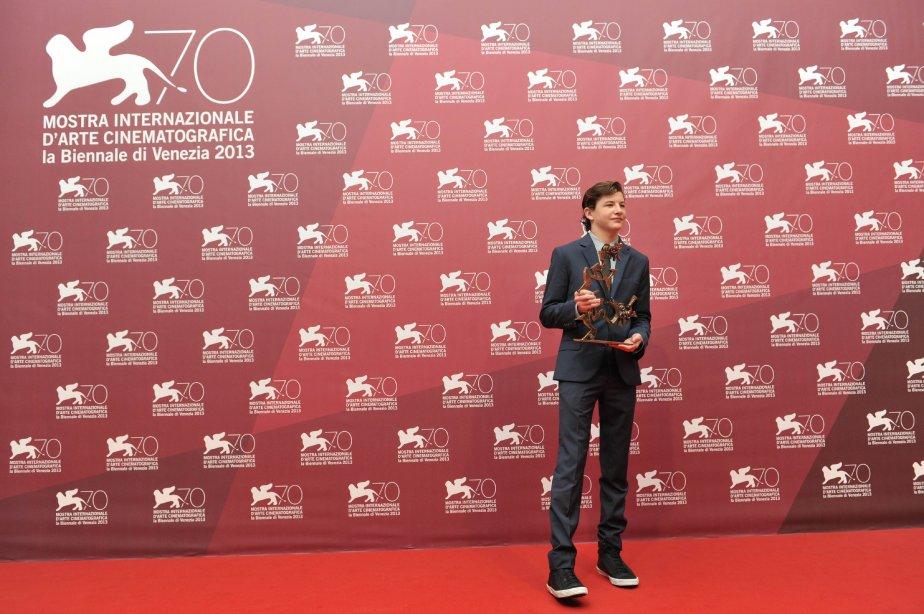 L'acteur américain Tye Sheridan a remporté le Prix du meilleur jeune acteur. | 7 septembre 2013