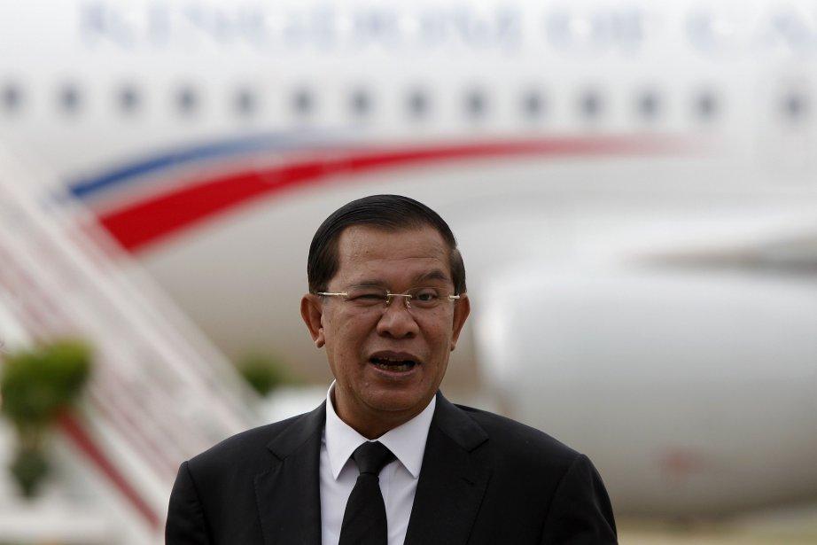 Le premier ministre Hun Sen a été réélu... (Photo archives Reuters)