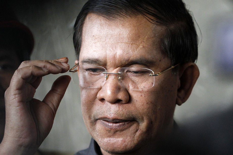 Le premier ministre du Cambodge, Hun Sen.... (Photo Samrang Pring, archives Reuters)