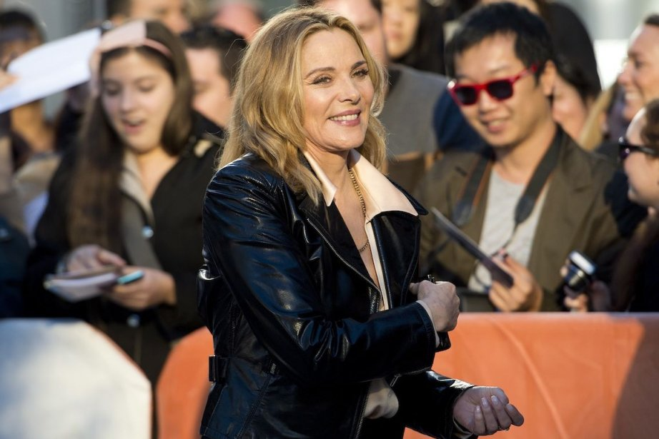 L'actrice Kim Cattrall sur le tapis rouge du film «The Grand Seduction». | 8 septembre 2013
