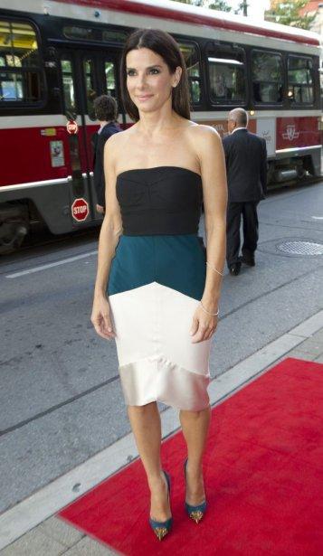 L'actrice Sandra Bullock à la présentation du film «Gravity». | 8 septembre 2013