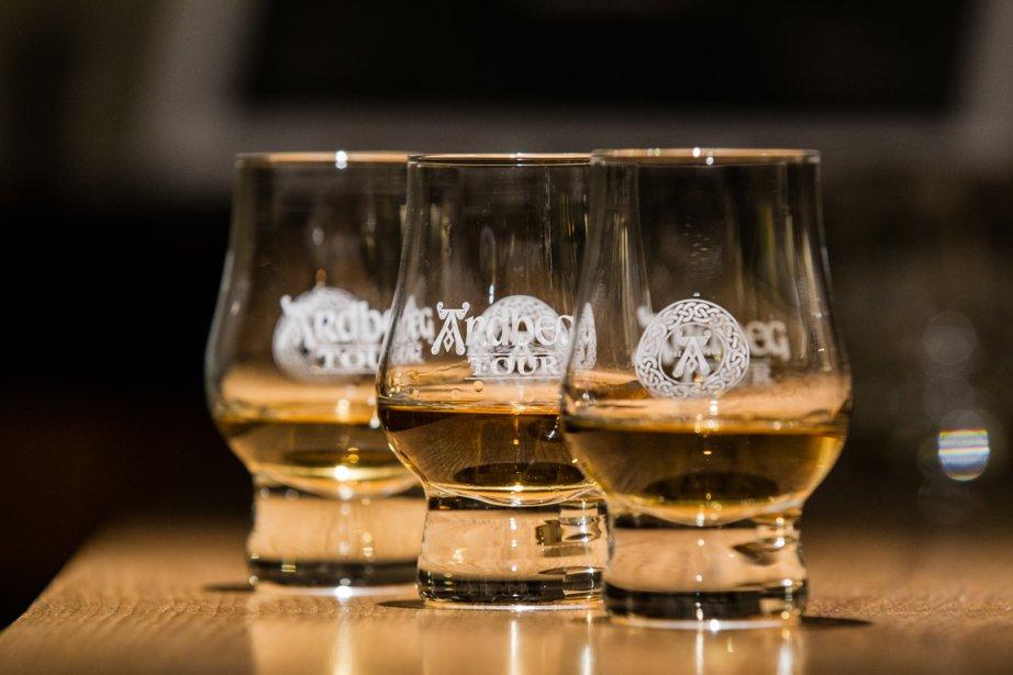 Trois whisky de la distillerie Ardbeg. | 9 septembre 2013