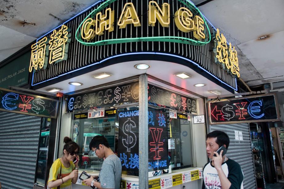 La Chine a l'intention de faire de Shanghai... (Photo AFP)