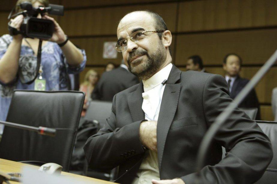 Le nouvel ambassadeur iranien auprès de l'ONU, Reza... (Photo AFP)