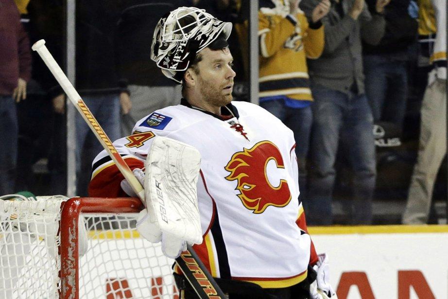Miikka Kiprusoff détient les records d'équipe des Flames... (Photo Mark Humphrey, AP)
