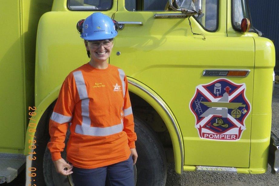 Nancy Létourneau travaille pour Agnico-Eagle depuis 11 ans.... (Photo fournie par Agnico-Eagle)