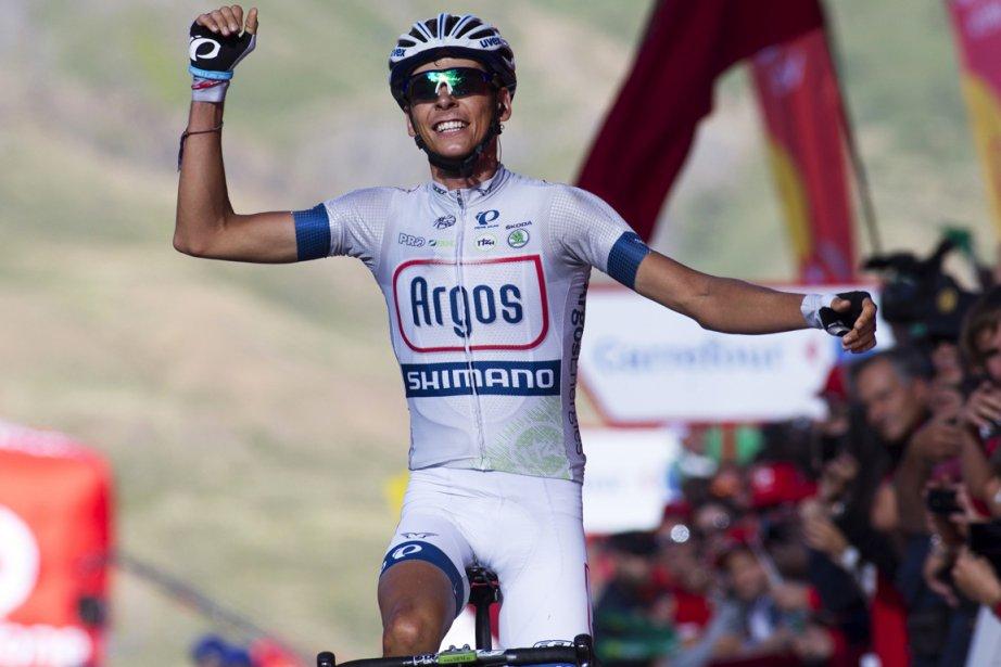 Le Français Warren Barguil s'est imposé au sprint... (Photo Jaime Reina, AFP)