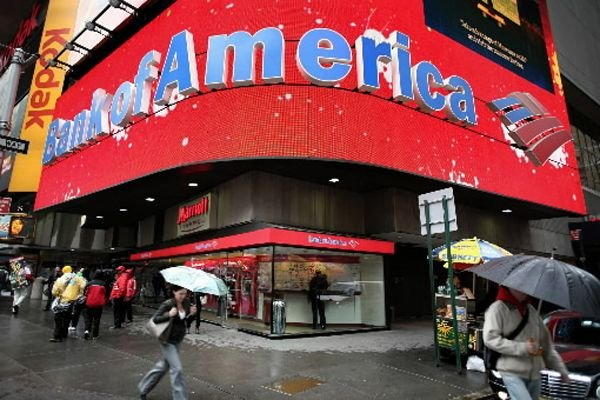 Bank of America supprime 2100 postes dans son... (Photo Associated Press)