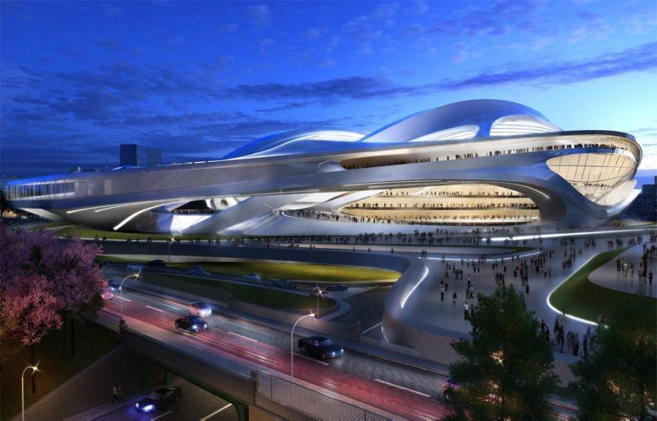 Tokyo peut-elle vraiment se permettre un stade olympique... (Photo Japan Sport Council)