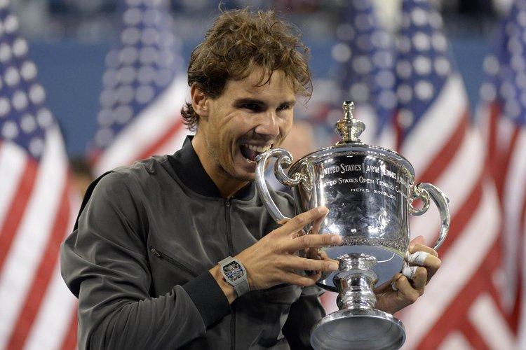 Rafael Nadal a remporté un 13e titre majeur... (Photo: AFP)