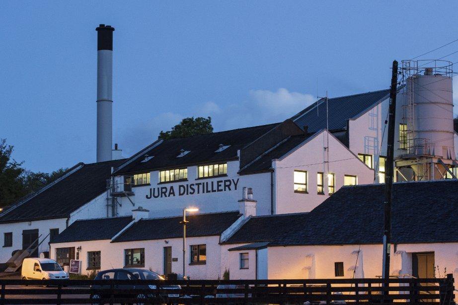 La distillerie de Jura. | 10 septembre 2013
