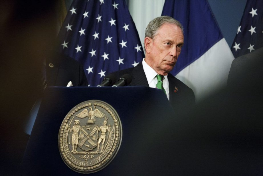 Le maire Michael Bloomberg quittera son siège après... (Photo Richard Perry, The new York Times)