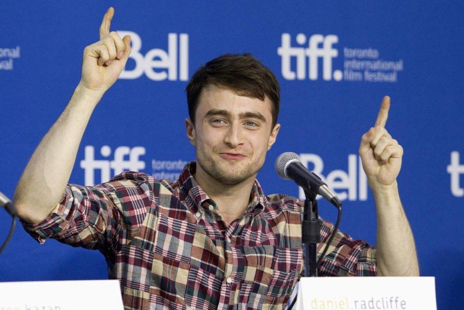 Daniel Radcliffe présente trois films au Festival de... (PHOTO FRED THORNHILL, REUTERS)