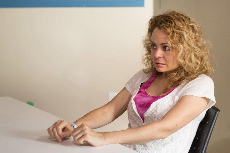 Catherine-Anne Toupin, la nouvelle Shandy, dans Unité 9.... (PHOTO FOURNIE PAR RADIO-CANADA)