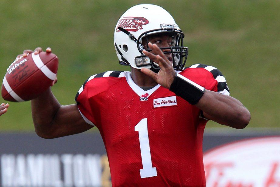Henry Burris... (Photo Dave Chidley, PC)