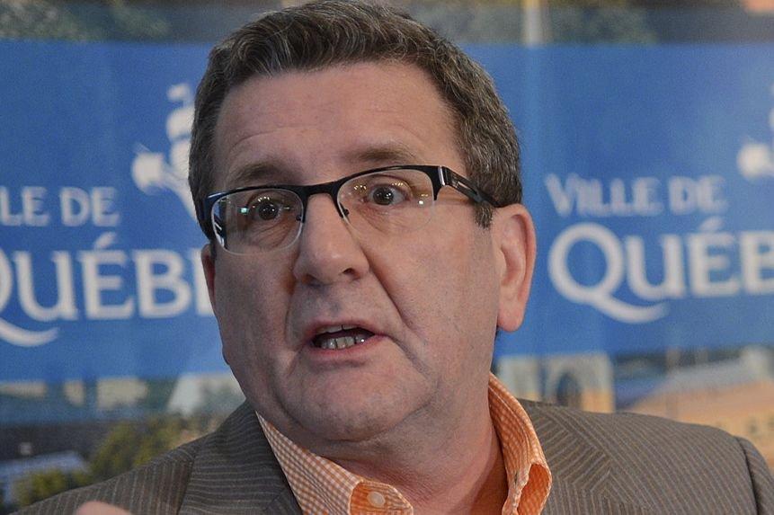 Régis Labeaume, maire de Québec.... (Photothèque Le Soleil, Patrice Laroche)