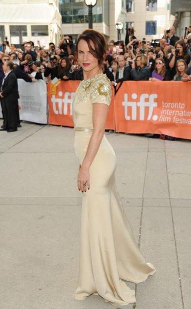 L'actrice Juliette Lewis avant la première du film «August: Osage County». | 10 septembre 2013