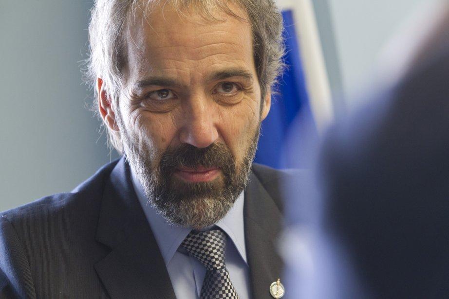 Daniel Paillé, chef du Bloc québécois.... (Photo Ivanoh Demers, La Presse)