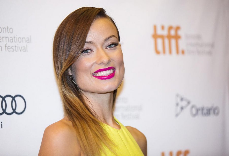 L'actrice Olivia Wilde sur le tapis rouge du film «Third Person». | 10 septembre 2013