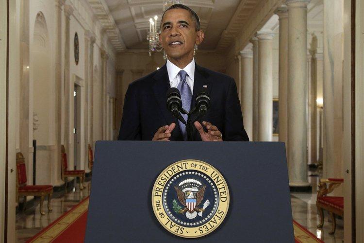 Le président Obama s'est adressé à la nation... (Photo: Reuters)