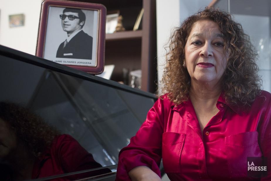 Hortensia Olivares Agurto a perdu son mari dans... (PHOTO OLIVIER PONTBRIAND, LA PRESSE)