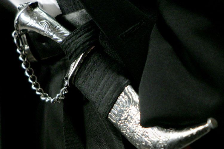 Un kirpan.... (Photo: Reuters)