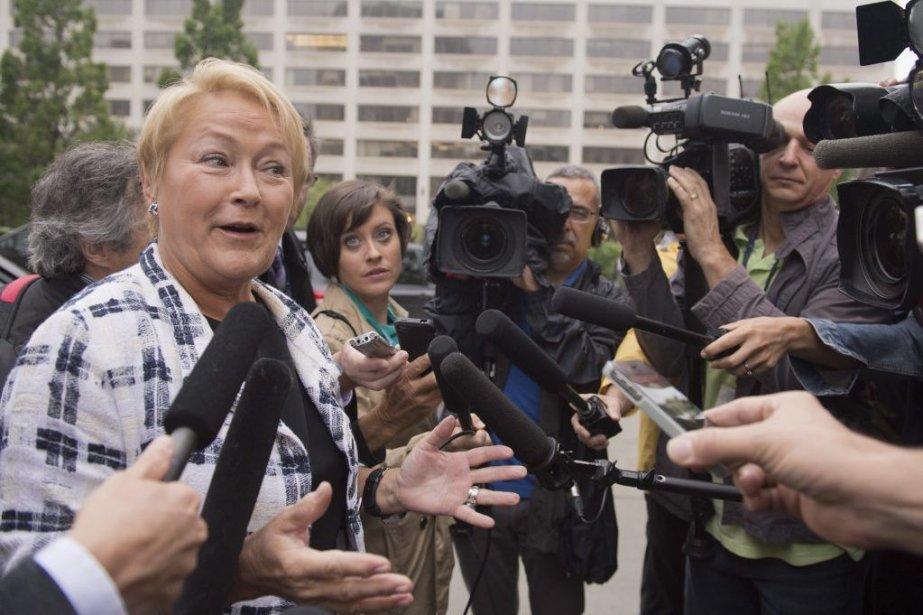 Pauline Marois... (Photo La Presse Canadienne)