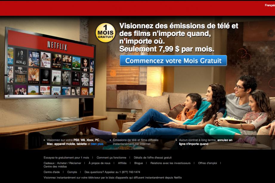 Les plateformes de vidéo à la demande constituent... (Photo Netflix)