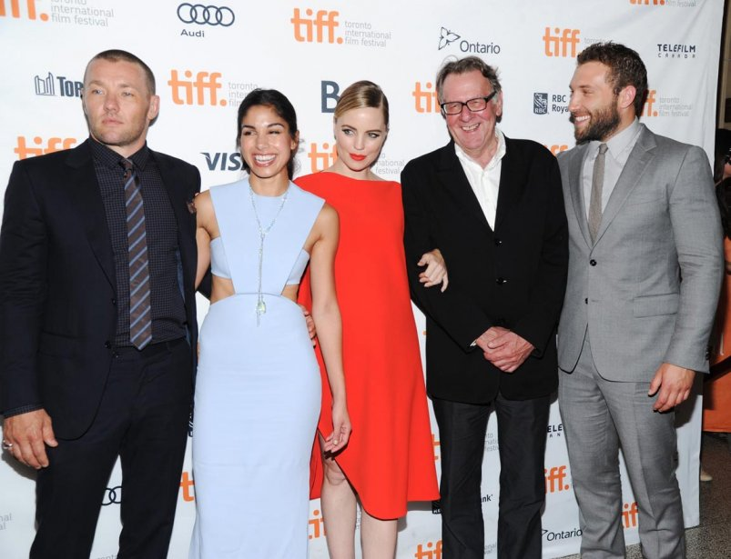 La distribution de «Felony» sur le tapis rouge: de gauche à droite, Joel Edgerton, Sarah Roberts, Melissa George, Tom Wilkinson et Jai Courtney. | 11 septembre 2013