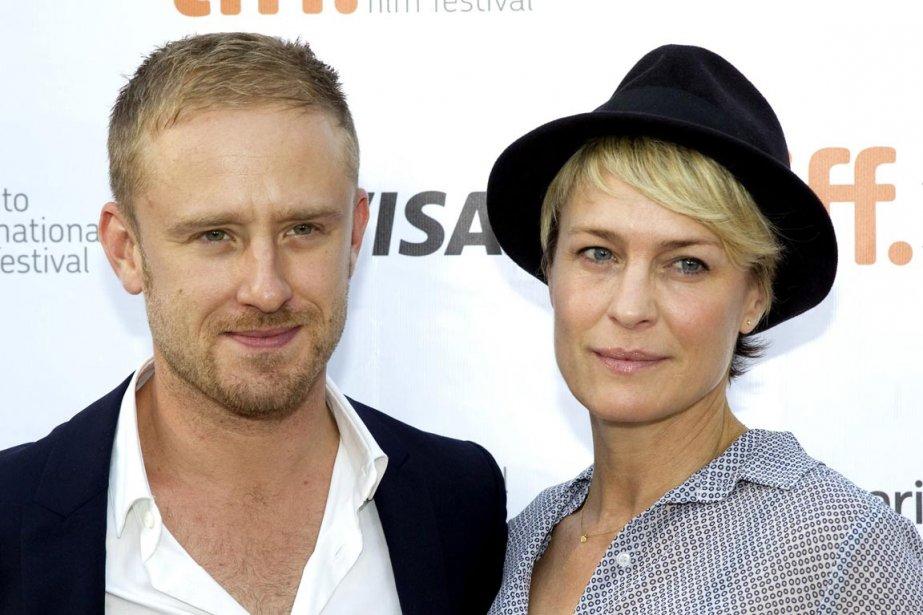 L'acteur Ben Foster et sa compagne Robin Wright arrivent à la première de «Kill Your Darlings» dans lequel il joue. | 11 septembre 2013