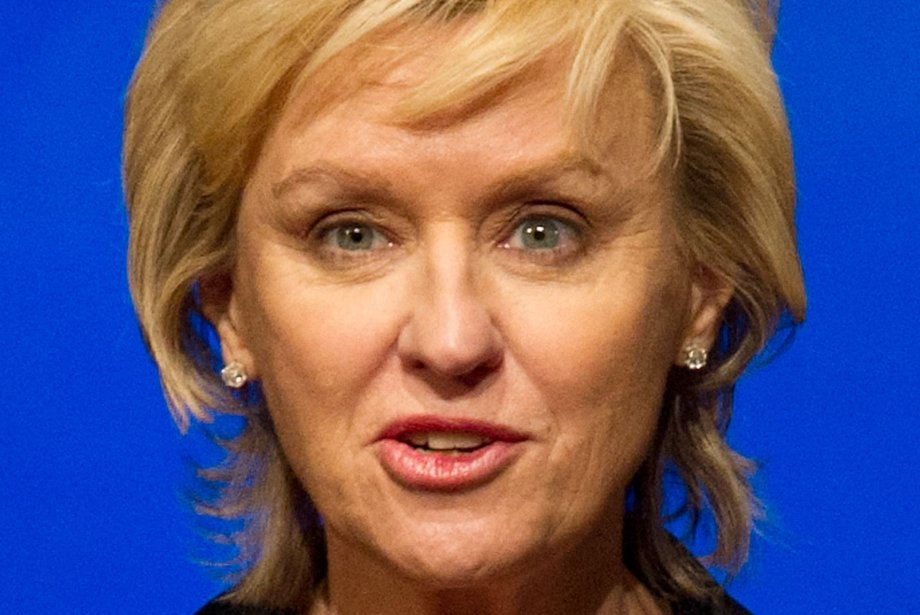 Tina Brown... (Photo Nicholas KAMM, AFP)