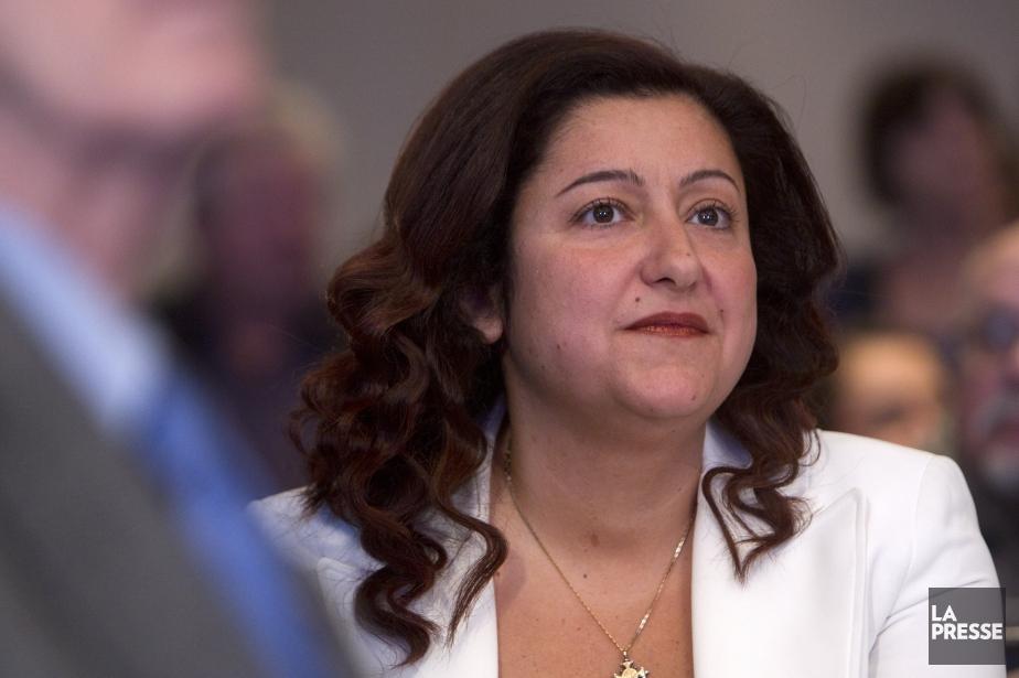 La députée Maria Mourani est expulsée du... (Photo Robert Skinner, La Presse)
