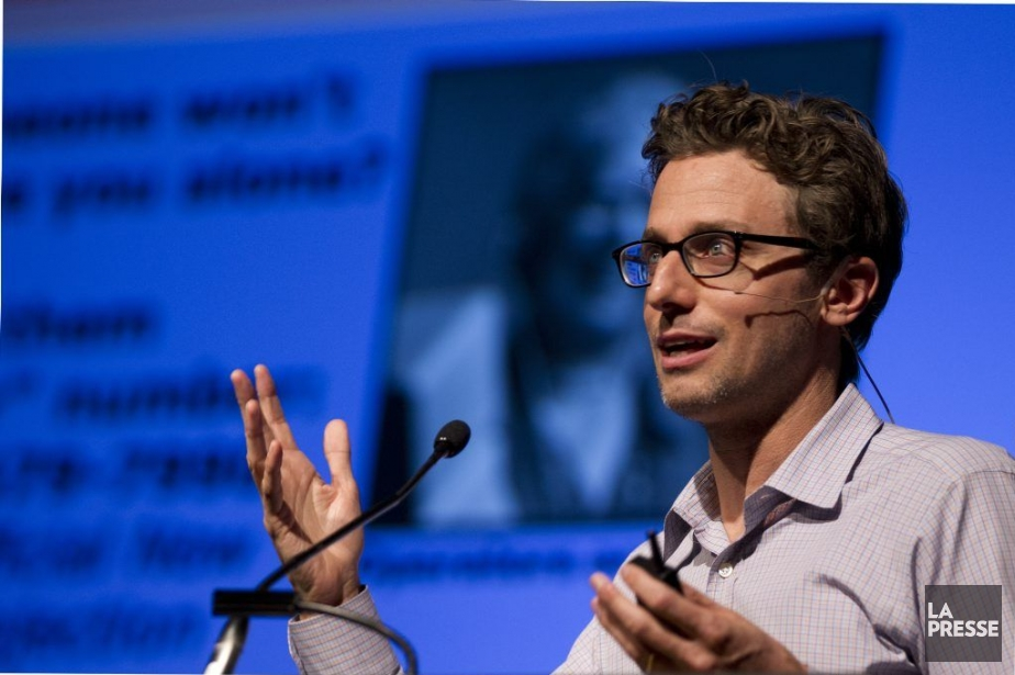 Le fondateur deBuzzfeed, Jonah Peretti, est venu parler... (PHOTO OLIVIER JEAN, LA PRESSE)