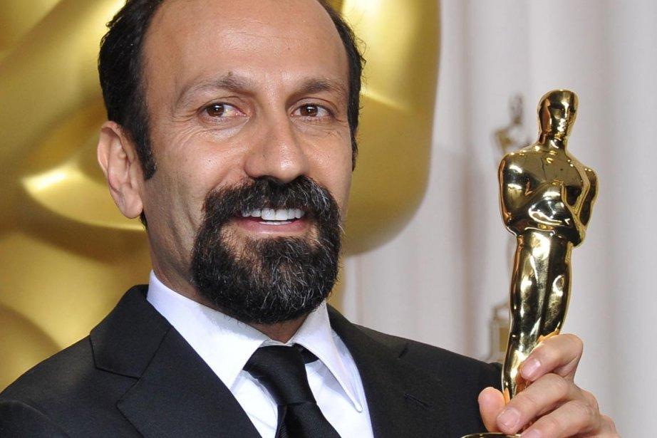 Asghar Farhadi a permis à l'Iran de remporter... (PHOTO JOE KLAMAR, AFP)