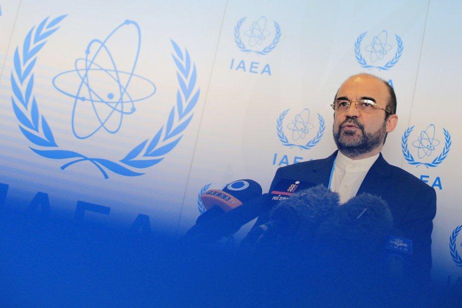 Le nouvel ambassadeur de l'Iran auprès de l'AIEAReza... (PHOTO ALEXANDER KLEIN, AFP)