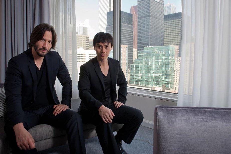 L'acteur et réalisateur Keanu Reeves et  Tiger Chen sont au TIFF pour présenter «Man of Tai Chi». | 12 septembre 2013