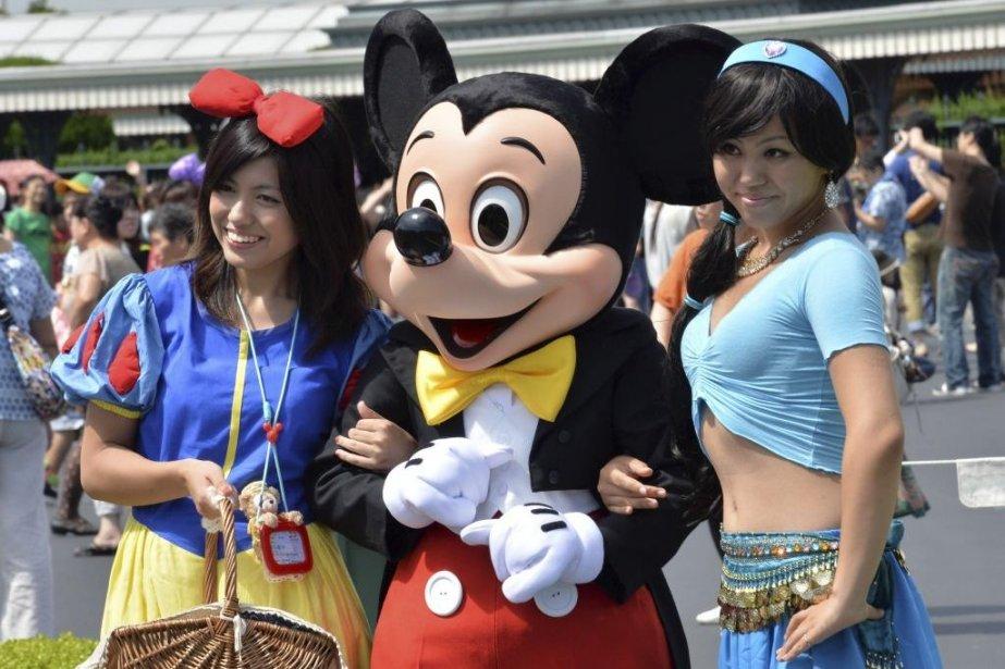 Le géant américain du divertissement Disney veut... (PHOTO YOSHIKAZU TSUNO, AFP)