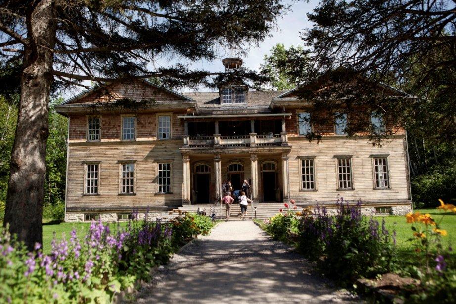 Le couvent-école comptait quatre salles de classe, toutes situées au rez-de-chaussée. (Photo fournie par Val-Jalbert)