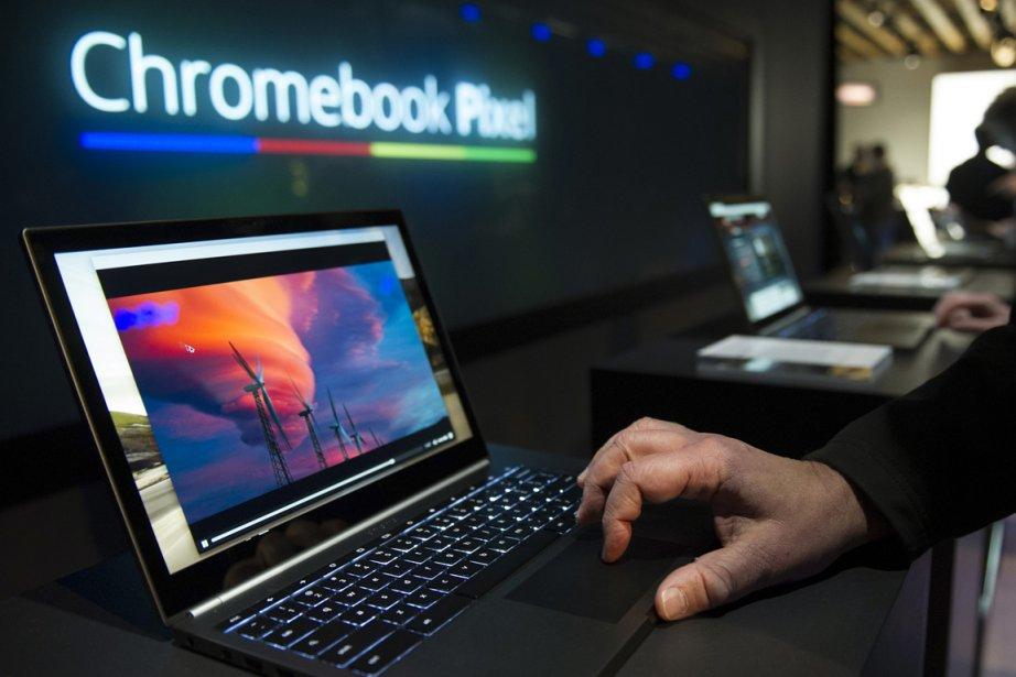 Le Chromebook 11 avait été lancé il y... (PHOTO ARCHIVES BLOOMBERG)