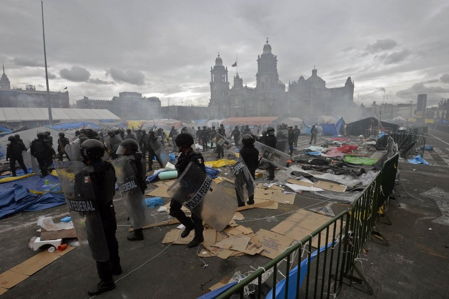 Les autorités gouvernementales avaient averti à plusieurs reprises... (PHOTO ALFREDO ESTRELLA, AFP)