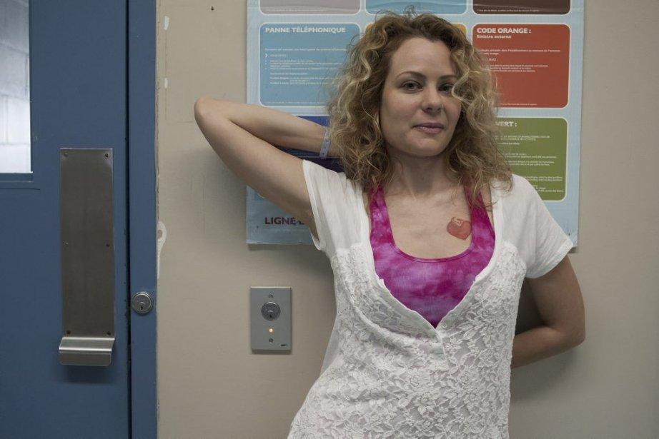 Catherine-Anne Toupin, la nouvelleShandy dela sérieUnité 9.... (PHOTO FOURNIE PAR RADIO-CANADA)