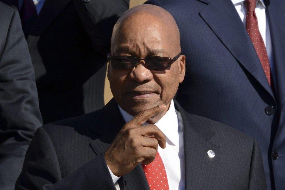 Le président Jacob Zuma.... (PHOTO KIRILL KUDRYAVTSEV,  AFP)
