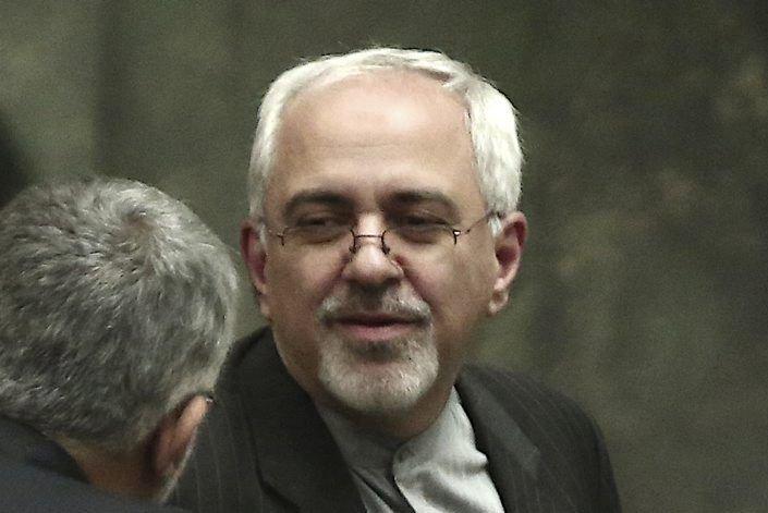 Le ministre iranien des Affaires étrangères, Mohammad Javad... (PHOTO BEHROUZ MEHRI, AFP)