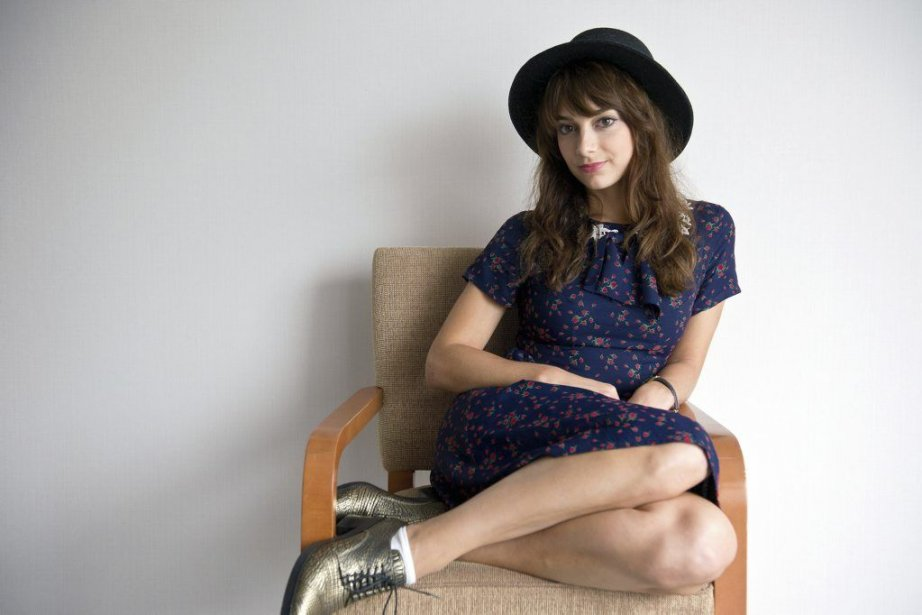 L'actrice Sophie Desmarais, qui incarne Sarah, affirme être... (PHOTO GALIT RODAN, PC)